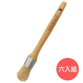 【漆寶】型染拓刷筆(六入組)