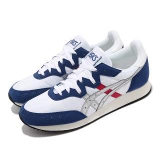 【asics 亞瑟士】休閒鞋 Tarther OG 復古 男鞋 亞瑟士 初代 虎走 復刻 運動 球鞋 白 藍(1191A211101)