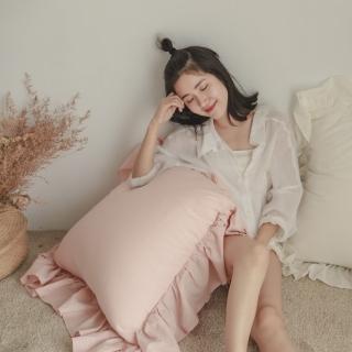 【翔仔居家】法式花邊 抱枕 65x65cm(單入-5色任選)