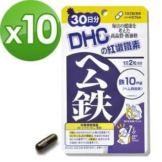 【DHC】紅嫩鐵素30日份(60粒/包)*10包組