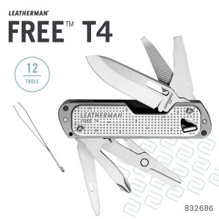 【Leatherman】FREE T4 多功能工具刀(自由 / 靈敏 / 輕快)