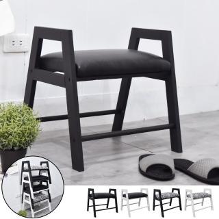【凱堡】玄關A字穿鞋椅/穿鞋凳/換鞋凳(鐵腳結構耐用穩固)