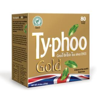【Typhoo】黃金特選紅茶80入-裸包(英式紅茶)