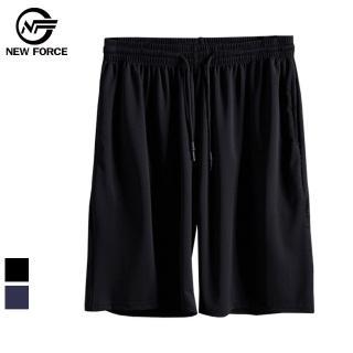 【NEW FORCE】冰涼超透氣抽繩彈性男運動短褲-2色可選(運動褲/籃球褲/機能短褲)