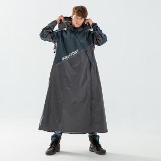 【Bright Day 君邁】X武士斜開連身式風雨衣(機車雨衣、戶外雨衣)