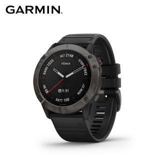 【GARMIN】Fenix 6X 頂級複合式運動GPS腕錶