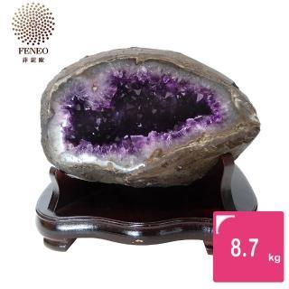 【菲鈮歐】開運招財天然烏拉圭紫晶洞 8.7kg(GE1)
