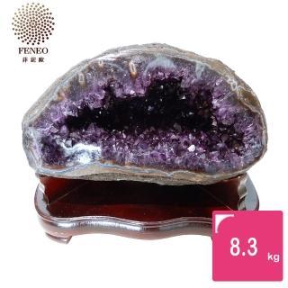【菲鈮歐】開運招財天然烏拉圭紫晶洞 8.3kg(GE2)
