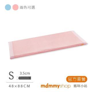 【mammyshop 媽咪小站】天然嬰兒乳膠床墊 S號(44x88x3.5CM)