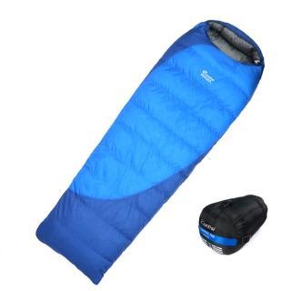 【ADISI】CAMPING 700 羽絨睡袋 AS18045(露營、睡袋、鴨絨保暖、戶外露營)