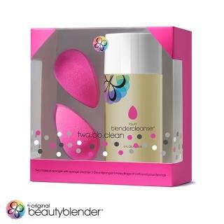 【beautyblender】超值限定組合-原創粉x2+清潔液150mlx1(原廠公司貨)