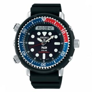 【SEIKO 精工】PROSPEX PADI 專業200M潛水太陽能腕錶(H851-00A0B/SNJ027P1)