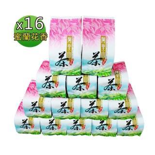 【龍源茶品】香翠阿里山高山茶16包組(150g/包-共4斤/附提袋-適合茶壺茶几泡茶)