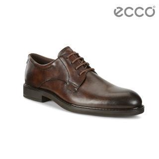 【ecco】VITRUS III 北歐正裝紳士德比鞋 男(棕色 64050401482)