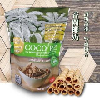 【即期品 促銷優惠】COCO RIZ椰子脆皮米捲(香蘭口味100g)
