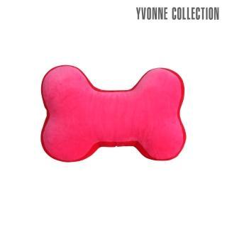 【Yvonne Collection】拼接中骨頭抱枕(桃粉)