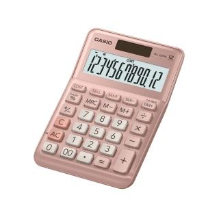 【CASIO 卡西歐】12位數雙電源稅率商用計算機(MS-120FM-PK)