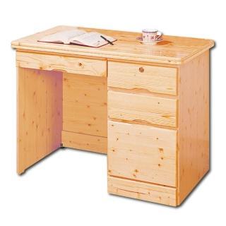 【AS】艾莉松木3.5尺書桌下座-105x57x76cm