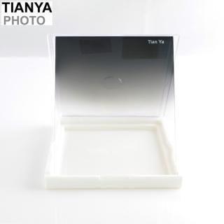【Tianya】天涯80黑漸層黑漸變黑SOFT ND減光鏡ND8方形ND濾鏡(全黑色-透明 相容法國Cokin高堅P)