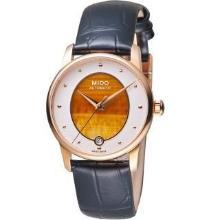 【MIDO 美度】永恆系列彩石腕錶-虎眼石(M0352073647100)