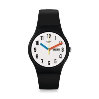 【SWATCH】Bau 包浩斯系列手錶 ELEMENTARY 簡約(41mm)