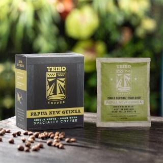 【TRIBO COFFEE】新幾內亞 瓦吉谷地 精品濾掛式咖啡/ 掛耳包(11g x 5包)