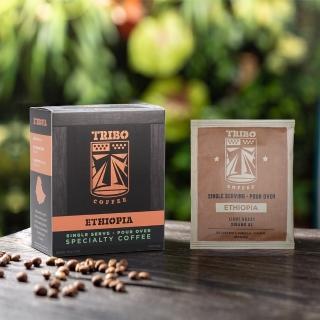 【TRIBO COFFEE】衣索比亞 西達摩 精品濾掛式咖啡/ 掛耳包(11g x 5包)
