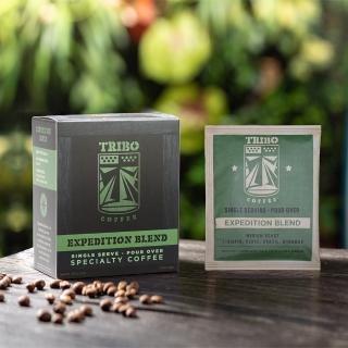 【TRIBO COFFEE】遠征綜合豆 精品濾掛式咖啡/ 掛耳包(11g x 5包)
