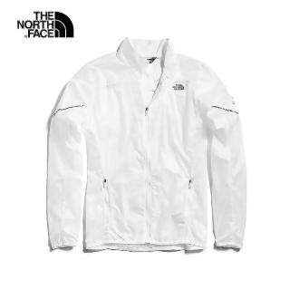 【The North Face】The North Face北面女款白色風衣外套|3O1EFN4