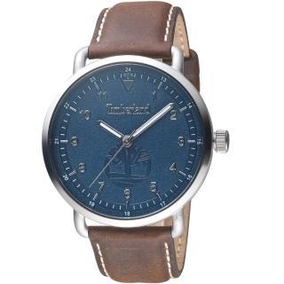 【Timberland】經典簡約時尚手錶(TBL.15939JS/03 藍)