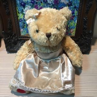 【TEDDY HOUSE】nice teddy 可愛珍珠泰迪小公主熊(正牌有靈氣好運泰迪熊)