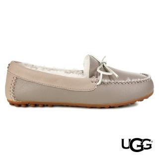 【UGG】Deluxe奢華樂福鞋(柔軟真皮平底樂福)
