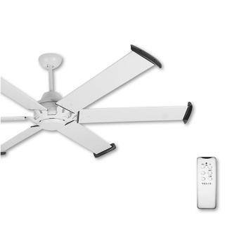 【ALASKA 阿拉斯加】MEGA工業風吊扇84吋-遙控-白色