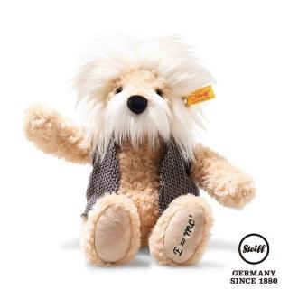 【STEIFF德國金耳釦泰迪熊】愛因斯坦熊 Einstein Teddy Bear(經典泰迪熊_黃標)