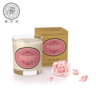 【Somerset 賽玫特】英國自然歐洲植物蠟香氛蠟燭200g-玫瑰花瓣