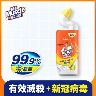 【威猛先生】深層淨力潔廁凝膠-清新檸檬(750ml)