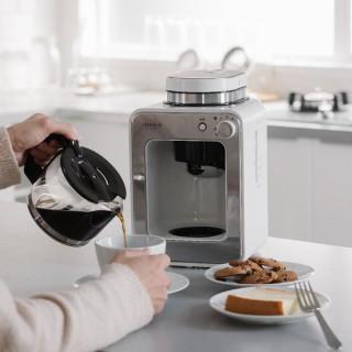 【Siroca】自動研磨咖啡機 SC-A1210W(完美白)
