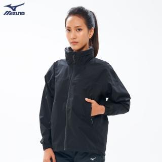 【MIZUNO 美津濃】女款單層GORE-TEX防水透氣外套 B2JE9X1009(黑)(T恤)