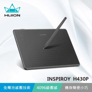 【HUION】INSPIROY H430P 繪圖板(輕巧方便 隨行創作)