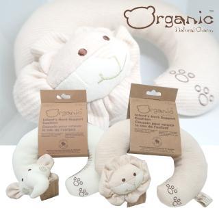 【Oragnic】有機棉動物造型護頸枕(大象/獅子)