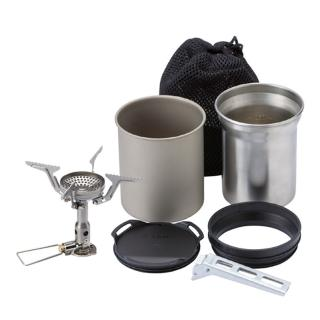 【SOTO】登山爐-無點火器 OD-1NV + 鈦杯組 SOD-520