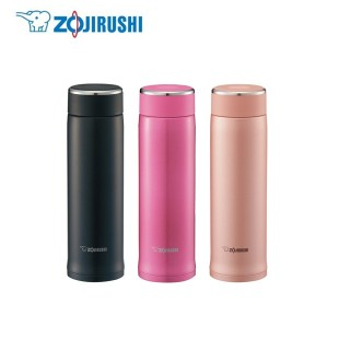 【ZOJIRUSHI 象印】*0.48L*可分解杯蓋不鏽鋼真空保溫杯(SM-LB48)