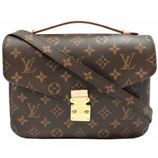 【Louis Vuitton 路易威登】M44875 METIS系列經典Monogram手提/斜背郵差包(經典花紋)