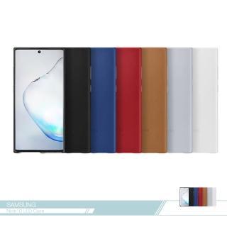 【SAMSUNG 三星】原廠Galaxy Note10+ N975專用 皮革背蓋-小牛皮(公司貨)