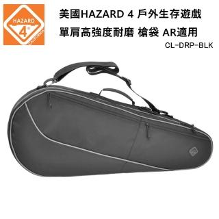 【Hazard 4】CL Dropshot Tennis Racket-style Padded Rifle Bag 單肩槍袋 CL-DRP-BLK(公司貨-黑色)