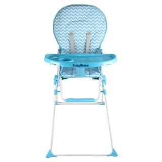 【BabyBabe】兒童高腳餐椅(可收折設計)