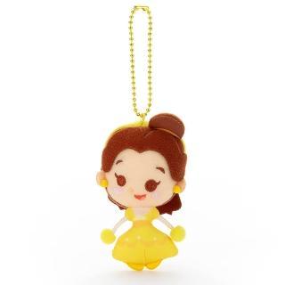 【Disney 迪士尼】Disney Toy Company 擦擦吊飾 貝兒(人偶 吊飾)