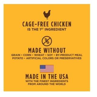 【Instinct原點】雞肉無穀全貓配方5lb(WDJ 貓飼料 無穀飼料 不含麩質 肉含量83%)