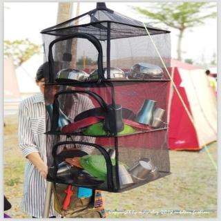【May Shop】出口韓國 加厚乾燥網 收納曬碗籃子(曬衣籃子)