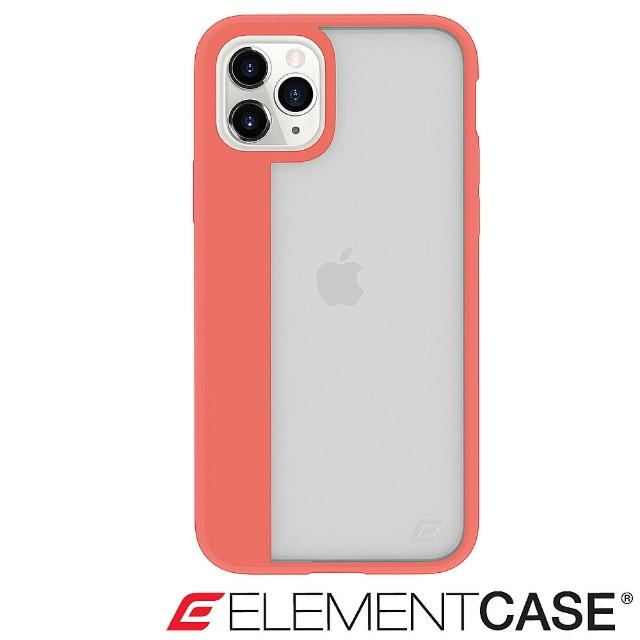 【Element Case】iPhone 11 Pro Max Illusion(輕薄幻影軍規殼 - 珊瑚橘)